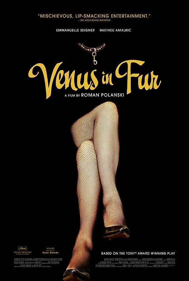 """""""Venus in Furs"""": poster oficial para el mercado norteamericano."""
