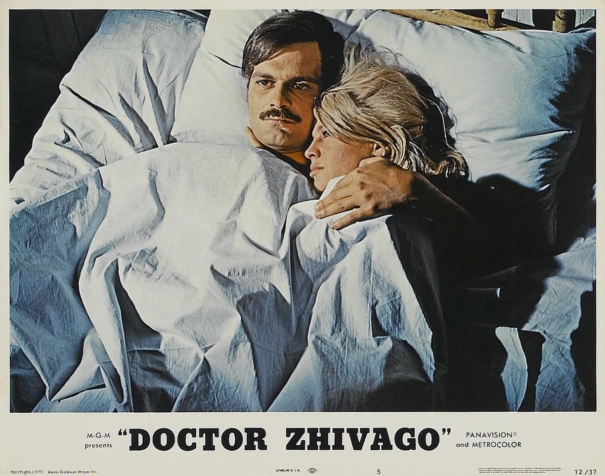 """Lobby card original de """"Dr. Zhivago"""""""