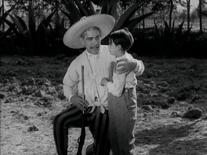 Don Tiburcio: Mañana, hijo mío, todo será distinto.