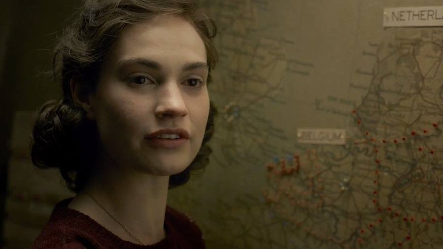 Lily-James-The-Darkest-Hour