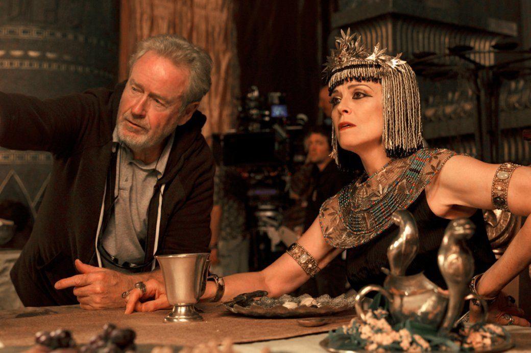 """Ridley & Ripley: Scott y Sigourney Weaver, a años-luz de la diversión de """"Alien""""."""