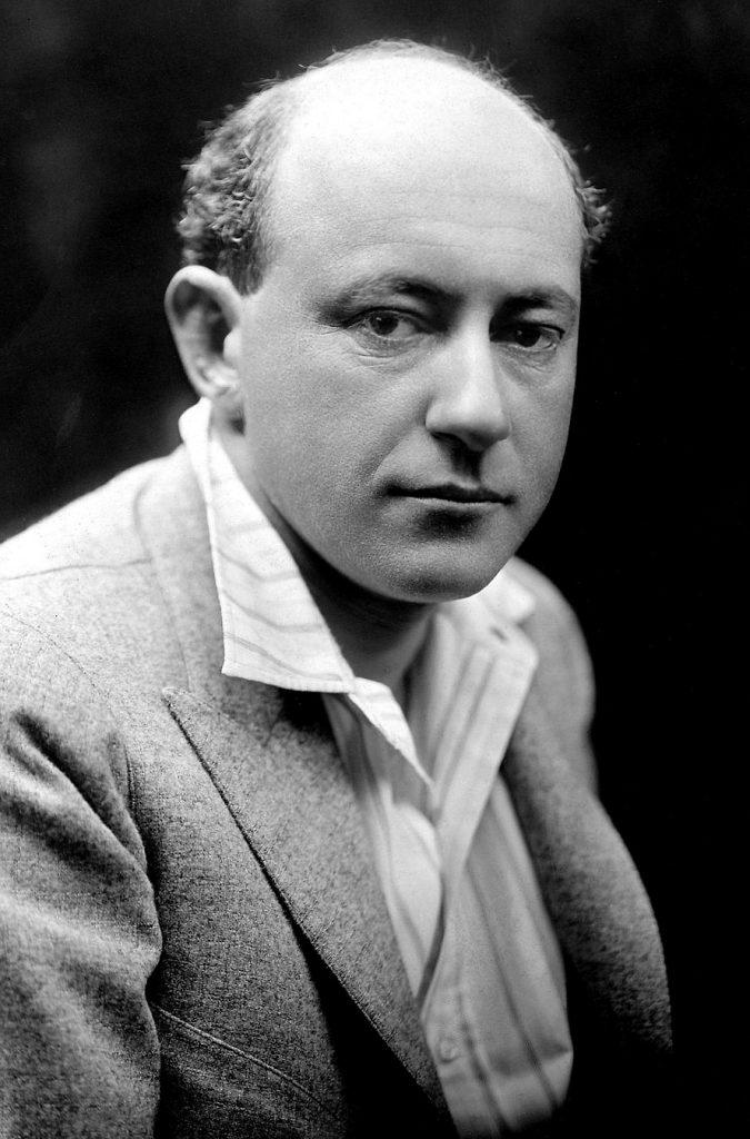 Retrato de Cecil B. DeMille, director de Fool's Paradise