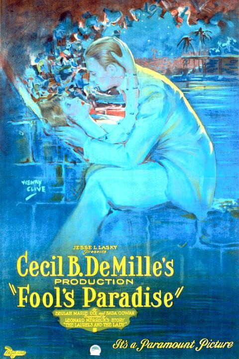 "Poster original de ""Fool's Paradise"""