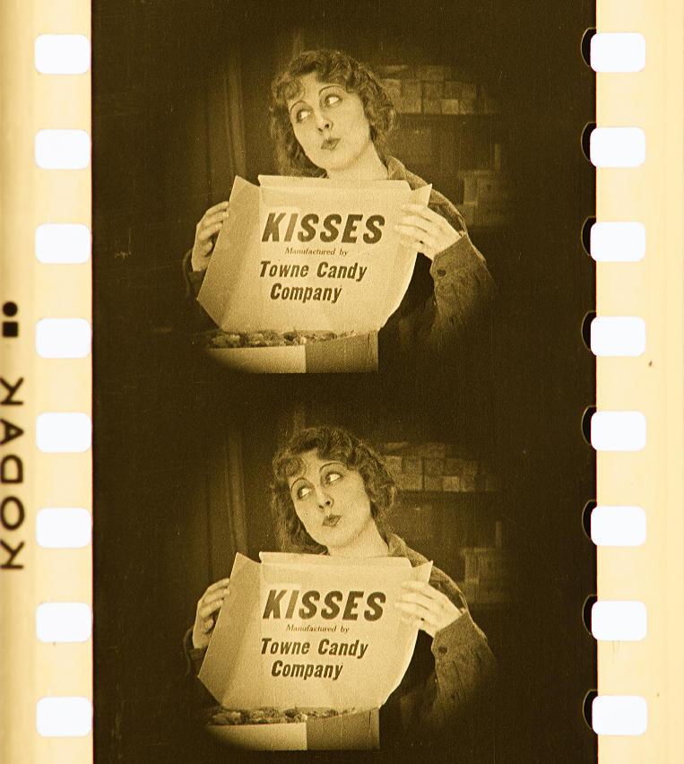 """Dorothy Dalton en un fotograma de """"Fool's Paradise""""."""