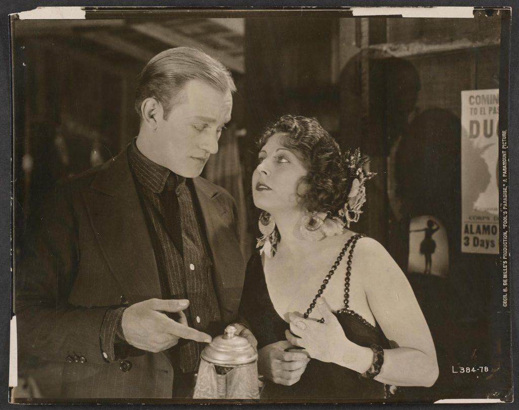 Conrad Nigel y Dorothy Dalton, protagonistas de Fool's Paradise